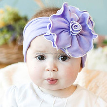 Soft Big Cotton Flower Modern Handmade baby Headband