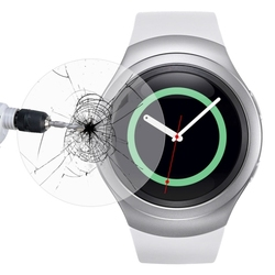 OEM service 0.2mm 8-9H screen guard for Samsung Gear S2 accessory