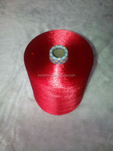 viscose filament yarn raw white dull cake dyed 600D/120F