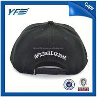 China Manufacture Promote Sale Red Plain Snapback Caps Hats Wholesale