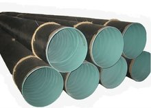 epoxy coated carbon steel anti-corrosive pipeline for oil and gas transport