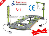 Yantai S1L pneumatic dent puller/frame measuring system/used auto frame machine for sale/car rotisserie/chassis straightening ma