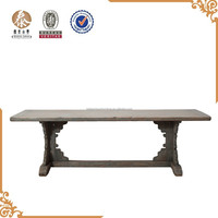 2015 Antique furniture solid wood dining table designs