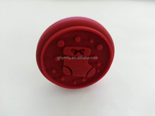 New design for Christmas wooden handle silicone cookie stamp