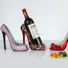 Hotsale High Quality Wine Bottle Holder Decorative High Heel Shoe Wine Holder