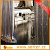 2015 Most Popular Silver Metallic Sequin Table Cloth Curtains