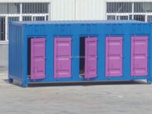side open steel door storage shipping container