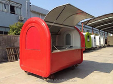 CE OEM electric mobile tricycle fast food vending hot dog
