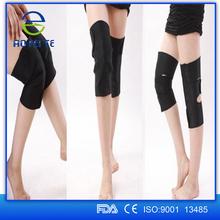 Black Medical Elastic Knee Brace Fastener Support Guard Sports Protector Knee