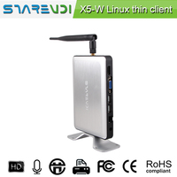 New PC station SHAREVDI X5 thin client Quad core CPU with 4usb ports