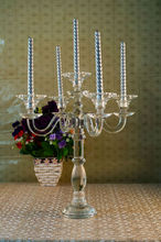 moderno mestieri di cristallo candela