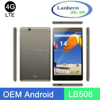 "b4 MT6735M/MT6735P customzied cellphone quad core 5"" android 5.1 mtk android factory OEM Smart phone with 4g LTE LB508"