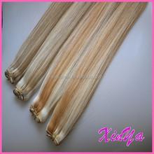 Tangle Free 100% Human Hair Extension Virgin Brazilian Straight hair blend