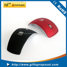 2.4ghz Wireless Foldable Folding Arc Optical Mouse for Microsoft Laptop Notebook