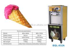 Completely-sealed ice cream batch freezer