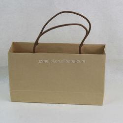 Meijei custom twisted handle paper wine bag