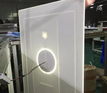 espejo del bao espejo luz un ser normal mm de espesor cuarto de bao espejo luz trasera estructura puede ser ip nominal
