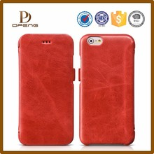 2015 OEM design leather mobile phone case for iphone 6