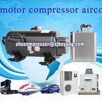 ev of dc 72v/128v/312v compressor for electric vehicle hvac Electric car air conditioning with BLDC 12/24/48/72Volt Kompressor