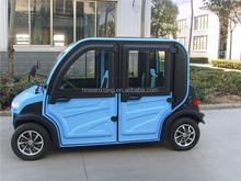 CE Approved 120 Range 4 Seats Chinese Smart Electric Car with AC