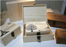 Fancy Wooden wine Box Case For Packing wine