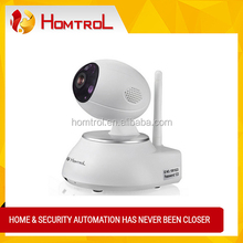 Homtrol HT-SC100 Wifi Wireless IP Security CCTV Camera with Digital Zooming and Push Alarm Notification Looking For Distributor