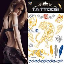 2015 Wholesale Stylish Body Jewelry 3d Tattoo Sticker
