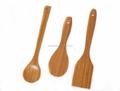 3 unids de bambú utensilios de cocina
