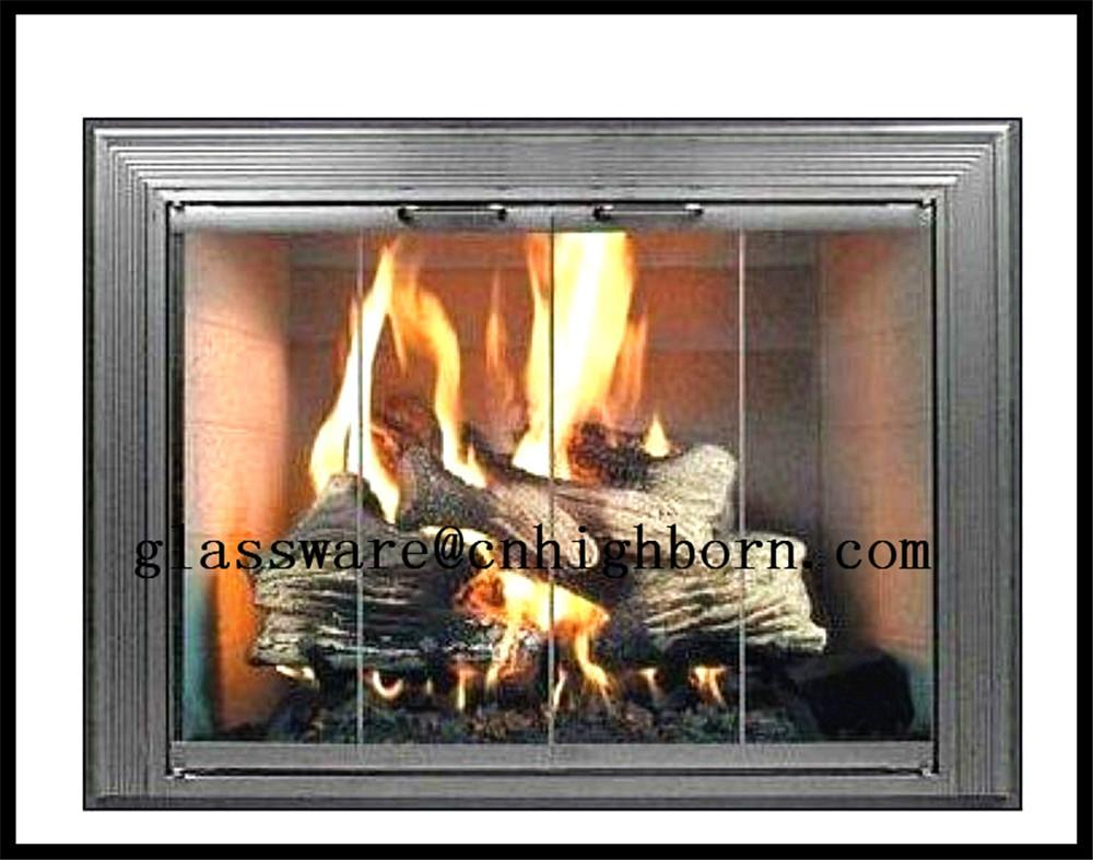 heat resistant ceramic glass fireplace doors buy ceramic glass doors heat resistant color