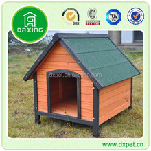 composite wooden dog house, outdoor wooden pet house, wooden dog cage DXDH011