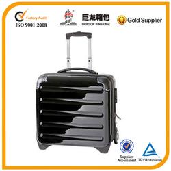 computer suitcase 100% PC four wheels laptop case
