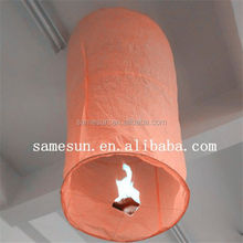 Eco-friendly no fire sky lanterns for advertise
