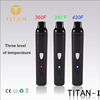 Alibaba Newest Temperature Control Dry Herb Vaporizer Titan 1 E Cig Wholesale China