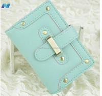 Women Men High Quality Fashion Simple Style Casual Candy Color Card Bag Handbag