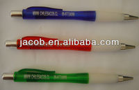decorative ballpoint pens for promotion printed custom logo 1000pcs free shipping