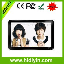 "19""advertising player and android media digital signage with wifi/lan remote control content"