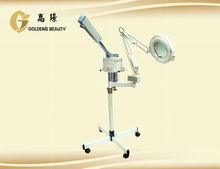 beauty salon facial steamer with magnitying lamp for sale