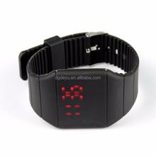 Rubber LED Smart Watch Date Sports Bracelet Digital Wrist Watch