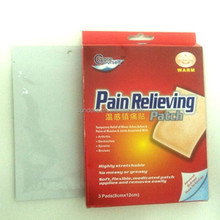 Warm feeling Pain Relieving patch