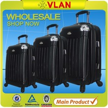 2015 Guangzhou factory ABS hardshell trolley luggage for sale