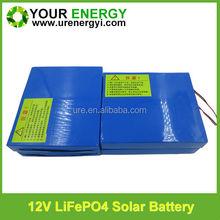 Big factory promotion 12V 10Ah solar deep cycle battery