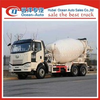 FAW 10CBM concrete mixing self loading concrete trucks mixer prices in kenya