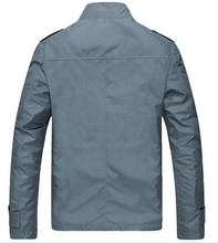 2015 newest men's korean fashion 65%cotton 35%polyester coat KF7365