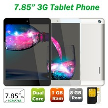 Promotion 7.85inch Quad Core 1GB Ram 8GB Rom android phone with dual sim