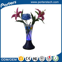 2014-2015 new design vase speaker with colorful led light magic light