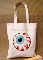 fashion natural 15oz cotton canvas tote bag