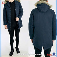 Latest New Style Men's Clothing Parka Jacket Winter Coat For Men With Hood