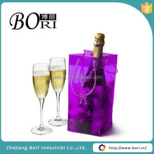 disposable pvc wine ice cooler bag for wine
