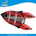 2015 hecho- en- china pvc material del casco de aluminio barco kayak