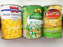 Cheap canned vegetable with choice quality canned vegetables for low price canned food